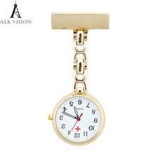 Alk vision fob карманные часы Медсестры Брошь медицинские Подвески