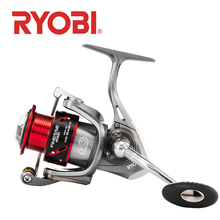 NEW RYOBI FINESSE Fishing reels spinning 2000/3000/4000/6000/8000 6+1BB GEAR RATIO 5.0:1/5.1:1 2.5-10kg Max Drag fishing wheels new ryobi accurist 2000 3000 4000 fishing spinning reel 4 1bb 3kg 5kg max drag reels fishing wheels metal spool saltwater