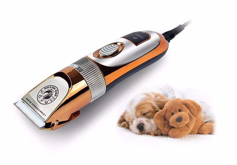 Professional High Power 60W Electric Pet Hair Clipper Cat Dog Rabbit Hair trimmer Grooming Machine with Spare Head 110-240VAC (3)