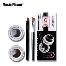 Music Flower Brand Eye Makeup 2 in 1 Bro