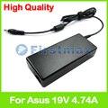 19 В 4.74A 90 Вт ноутбук зарядное устройство ac адаптер питания для Asus N56XI N60 N60D N60Dp N60W N60WT N61 N61J N61JA N61Da N61D N61Jf N61Jq