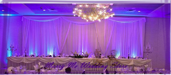 3m x 6m backdrop for wedding withdetachable swag ideas design for party decoration background curtain free