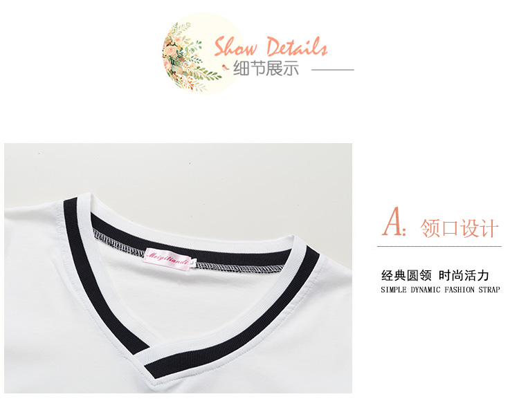 4XL 5XL Plus Size Korean Women's Clothing Fashion Big Size T-shirt Female V neck Short Sleeve Casual obesity Tee Shirt Top Femme 28