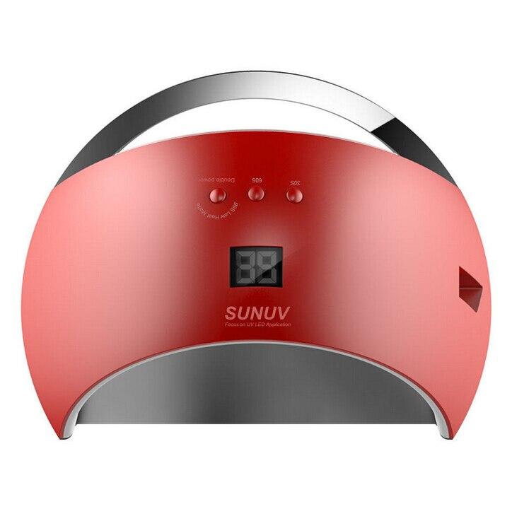 Smart SUN6 UV Light LED Lamp Nail Dryers 48W UV Nail LED Nail Drying Machine For Curing Nail Gel Polish Dryer Art Tool