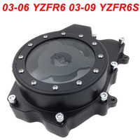 For 06 14 Yamaha YZFR6 YZF R6 YZF R6 Engine Stator Crank Case Cover Engine Guard Side Shield Protector 2006 2007 2008 2009 2014