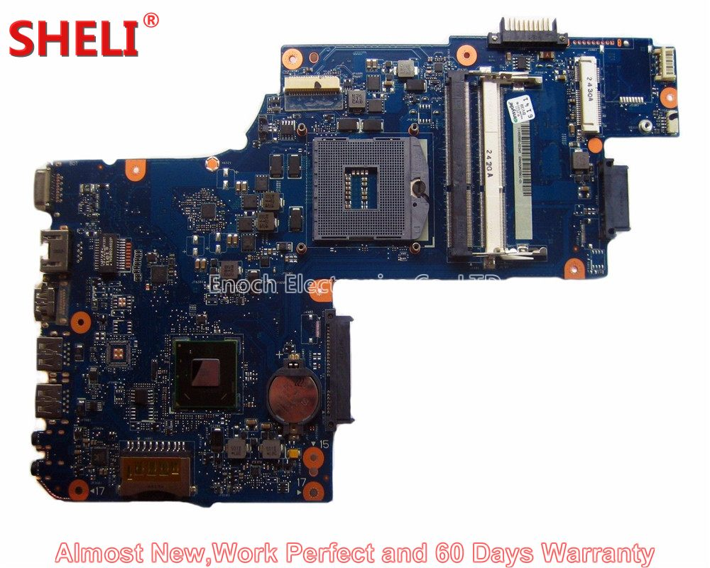 SHELI H000050950 Laptop Motherboard Für Toshiba Satellite C850 C855 L850 L855 PLF/PLR/CSF/CSR UMA HD 4000 HM70 Freies CPU