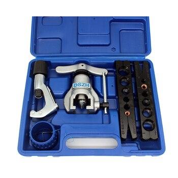 무료 배송 미터 및 인치 튜브 확장기 키트 에어컨 구리 파이프 파이프 리머 튜브 플레어 도구 6-19mm 1/4-3/4 인치