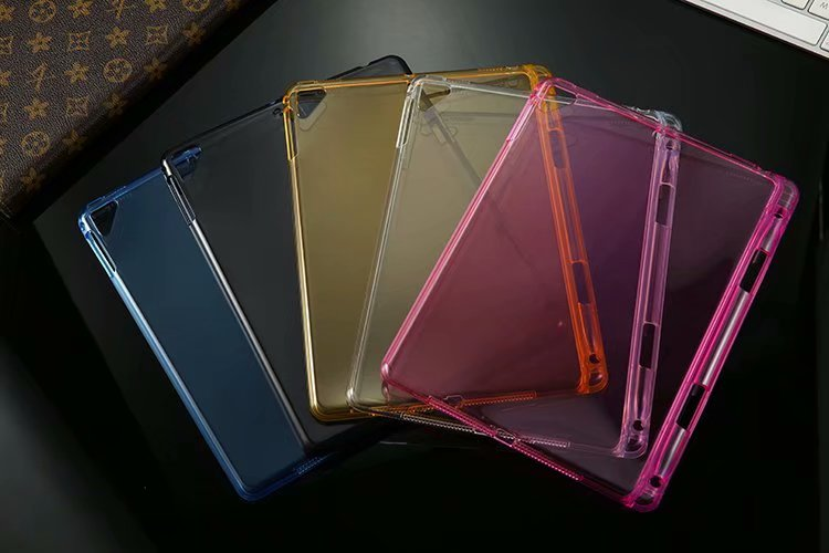 Transparent Silicon TPU Case With Pencil Holder For Ipad Pro 10.5 2017 A1701 A1709 Tablet