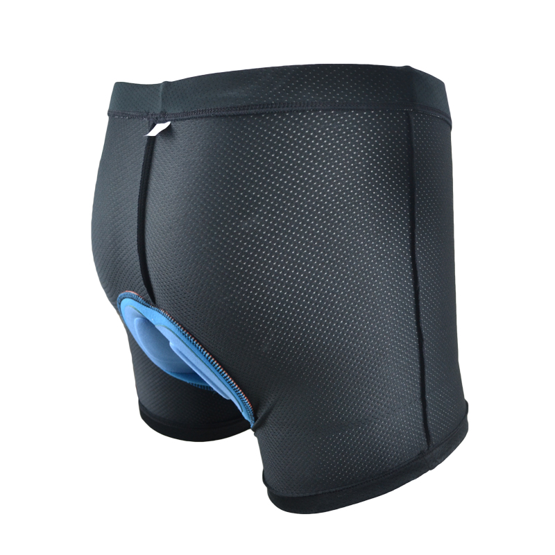 Men Women Cycling Sponge Padded Underwear Bicycle Bike Underpant Shorts Welcome