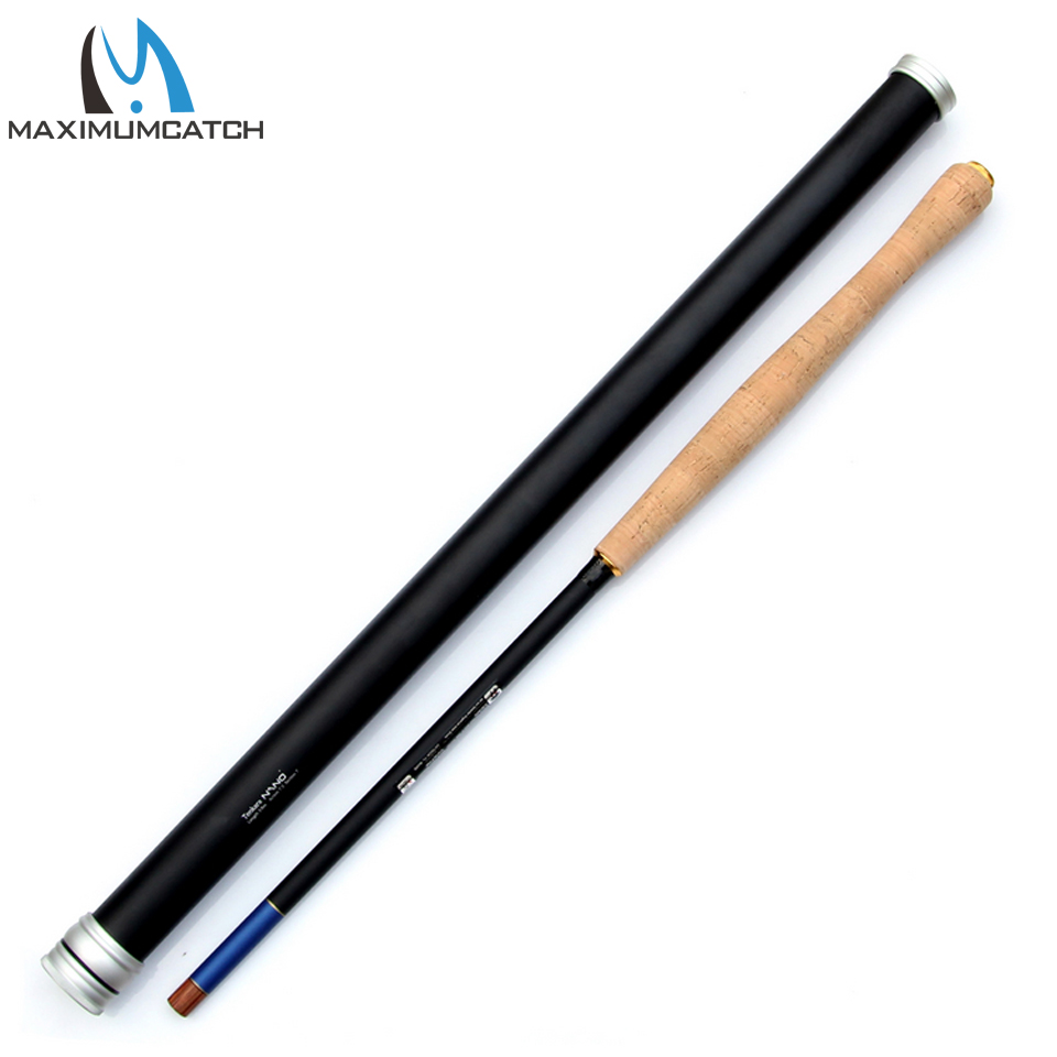 Maximumcatch Nano Japanese Carbon Fiber Fly Fishing Rod 12FT 7:3 Action 8 Segments Tenkara Fly Rod crony st8003 3 gc pro stream series rod weight 79g 8 0 3 3pieces fly rod 6 15g fishing rod