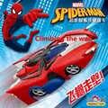 Marvel nuevo transformador Spiderman RC pared escalada coche control remoto Bugatti Veyron juguetes eléctricos regalo para niños