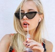 Cat Eye Sunglasses Women 2018 Luxury Eyewear Black Retro Female Sunglass Cateye Glasses for Woman