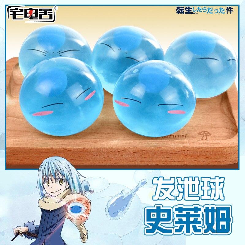 6cm Tensei Shitara Slime Datta Ken Rimuru Tempest Anti Stress Grape Venting Balls Best Kids Toys For Boys/girls Toys & Hobbies