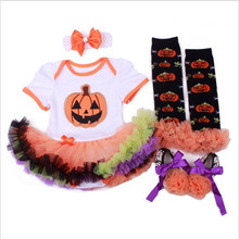 Halloween Dress Baby Girl Clothes My First Christmas Newborn