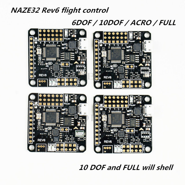 US $23.97 |NAZE32 Rev6 flight control for DIY FPV cross racing mini on