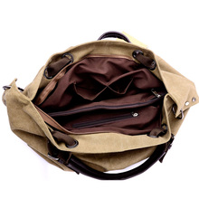 Women Canvas Casual Messenger Bags Large Capacity Tote