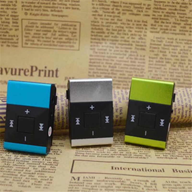Espejo portátil Mini reproductor de MP3 Clip reproductor de MP3 impermeable deportes deporte MP3 reproductor de música walderman letore MP3 nueva gran promoción