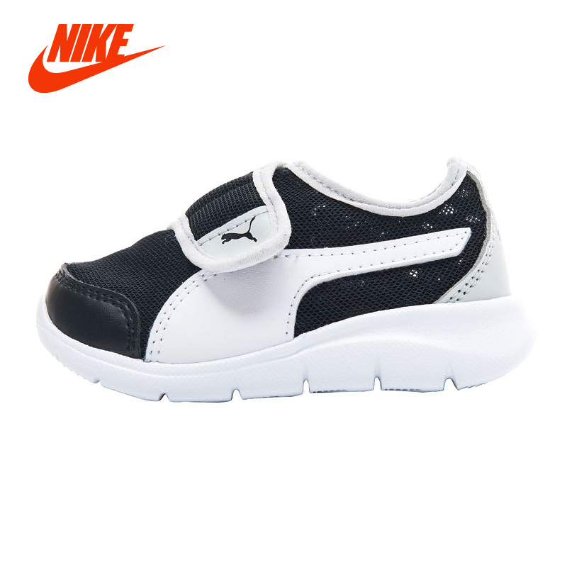 Original PUMA New Arrival Air Mesh Boy Sneakers Summer Cool Baby Girl Sport Running Shoe Hook Loop Breathable Casual Sneakers designer golf shoes boy girl new arrival