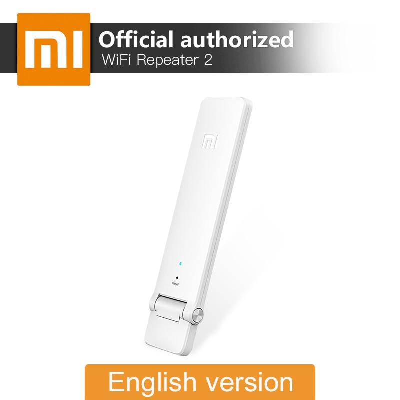 Xiaomi Mi WiFi 리피터 2 영어 버전 Extender 300Mbps 신호 향상 네트워크 앰프 무선 라우터 안테나