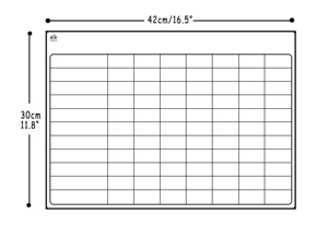 Image 3 - Magnetic Dry Erase Board for Fridge with 3 Markers Weekly Planner Magnetic Whiteboard Planner Board Magnetic Fridge