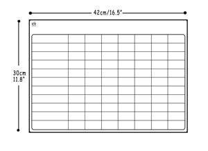 Image 3 - Manyetik kuru silme kurulu buzdolabı 3 marker ile haftalık planlayıcısı manyetik beyaz tahta planlayıcısı kurulu manyetik buzdolabı