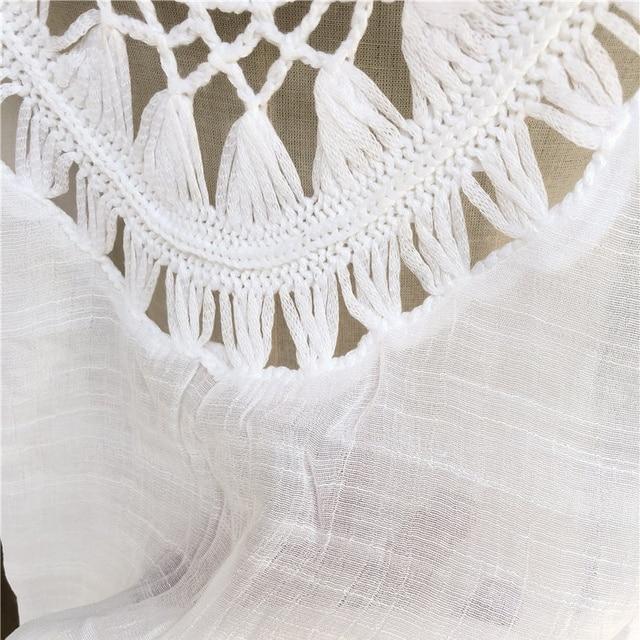 Women's Crochet Sun Cotton Beach Cover Up 4