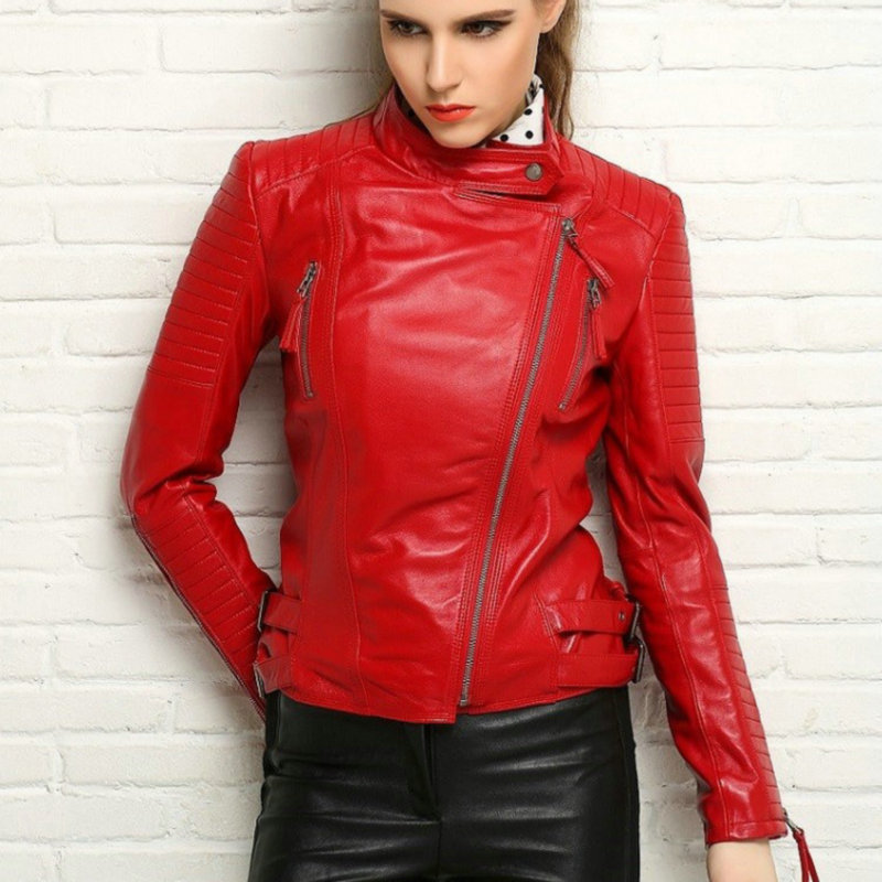 Cheap Real Leather Jackets For Women