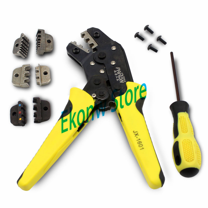 New Multi function Plier Ratchet Wheel Save Effort Terminal Crimping Press Plier Hand Tool Perfect for