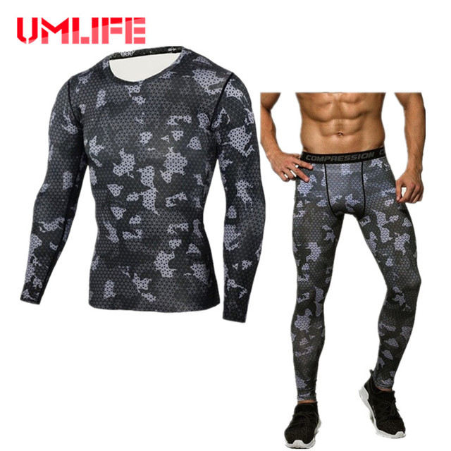 Compression Tracksuit Fitness Training Sports Suits
