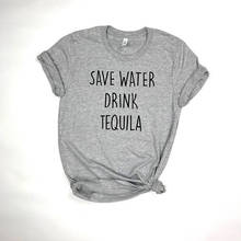 """""""Save water drink tequila"""" women's shirt"""