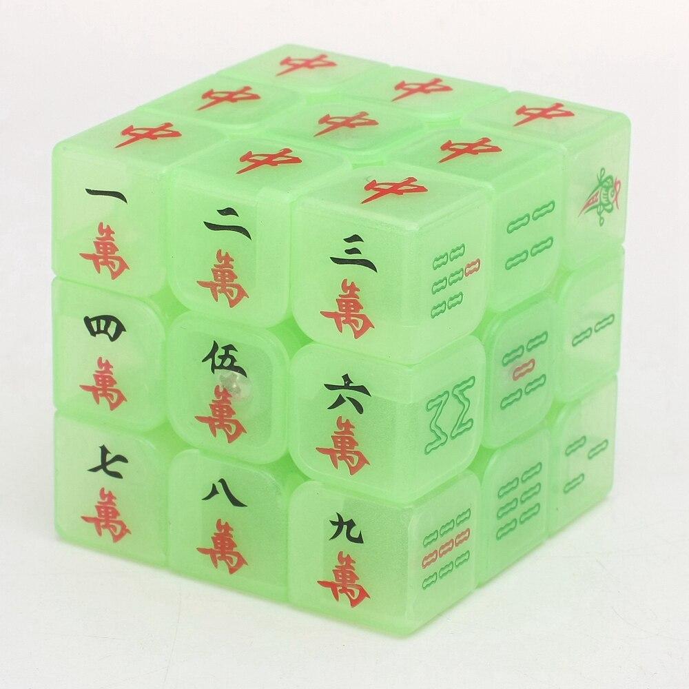 Zcube Svijetli Mahjong 3x3x3 Magična kocka Brzina puzzle Kocke - Igre i zagonetke - Foto 3