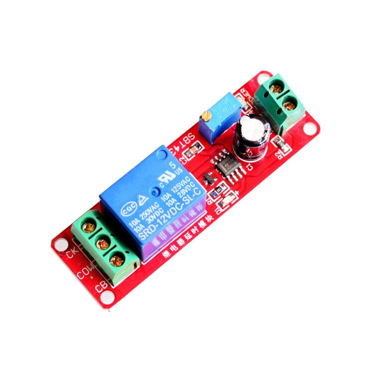 Integrated Circuits 12v Delay Timer Monostable Switch Relay Module Ne555 Car Oscillator Low Price
