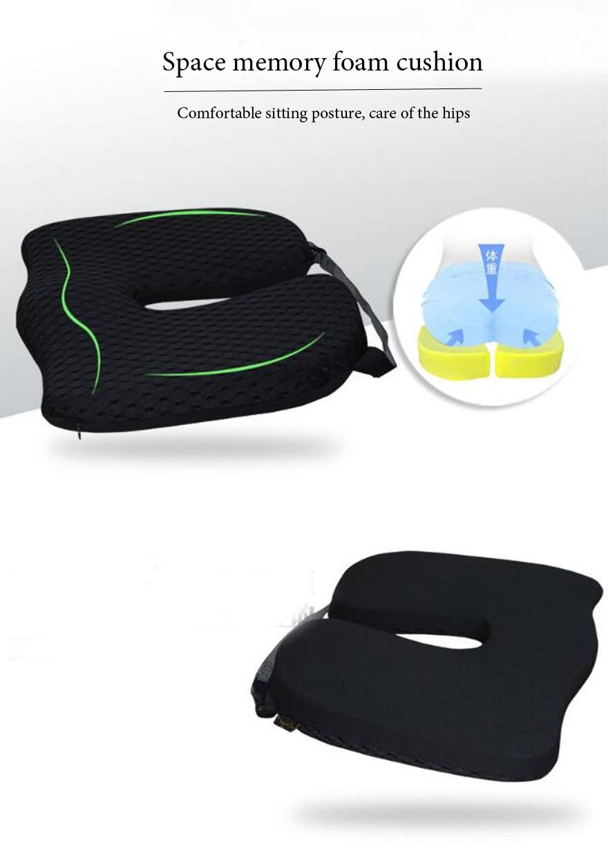 HTB1O8AyaWmWBuNkHFJHq6yatVXao High Quality Car Cushion Set Memory Foam Car Lumbar Support Set Back Lumbar Neck Pillow Seat Cushion for Driving Office Home