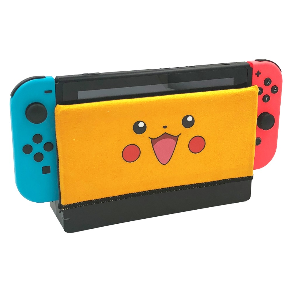 Nintend Switch Dock Sleeve Sock Protection Accessories Soft Suede Anti-scratch Case Cover for NS Dock nintend switch dockable anti scratch crystal hard back detachable protective case cover slim for nintendos switch ns docking