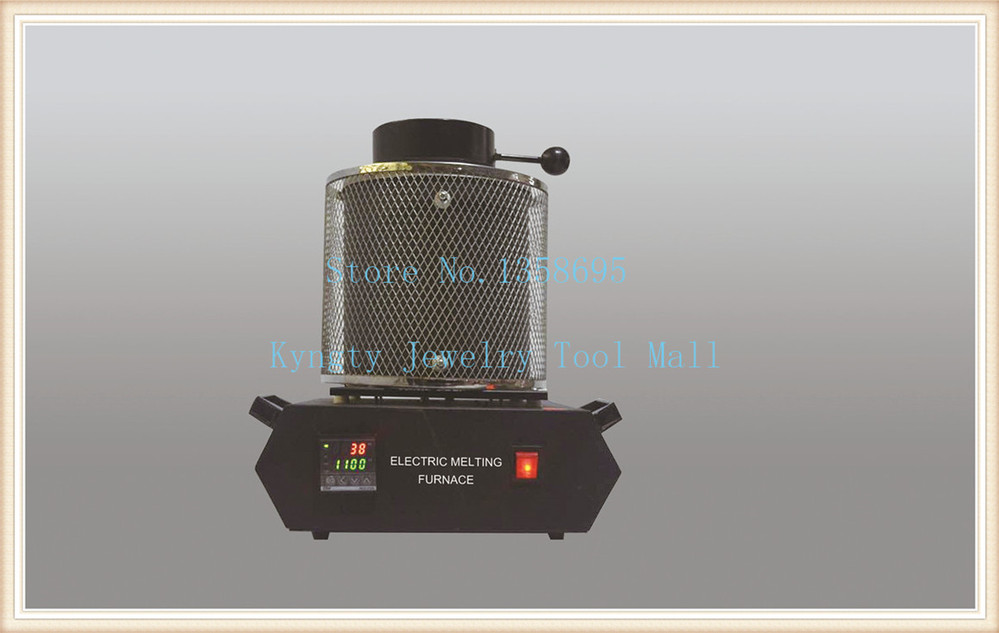 Free Shipping by DHL Jewelry Tools 220V 3kg Gold Smelting Equipment Gold Melting Furnace with 1 Tong 1 Crucible goldsmith free shipping jewelry making tools 110v 2kg mini gold melting furnace electric melting furnace with tong crucible goldsmith