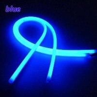Tonewan New 2pcs Factory Price High Power 60CM White Amber LED Daylight Running Light Flexible LED