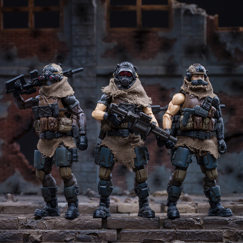 1/18 JOYTOY Action Figure Soldiers(3pcs/lot) WEST ASIAN MERCENARY LEGION Collection Model Doll In-stock Free Shipping