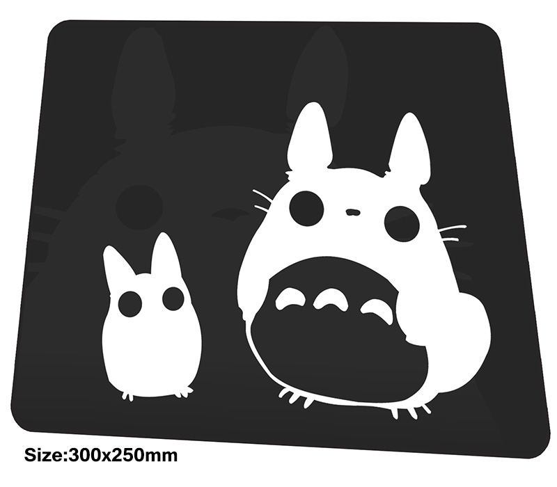 Totoro mouse pad 300x250mm mousepads best gaming mousepad gamer HD print large personalized mouse pads High quality pc pads