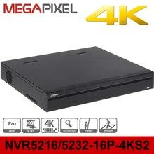 4k Pro NVR Dahua DHI-NVR5216-16P-4KS2 16ports poe support 8mp ip camera cctv video surveillance security system dvr