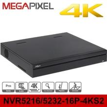 Dahua poe nvr 4k Pro DHI NVR5216 16P 4KS2 16ports poe support 8mp ip camera cctv