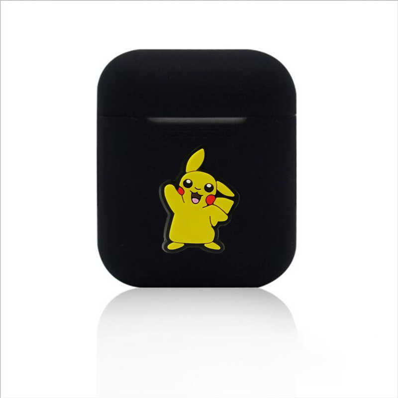 Cartoon Bluetooth bezprzewodowy etui na słuchawki do Apple AirPods TPU silikon ładowania słuchawki przypadki dla Airpods pokrywa ochronna