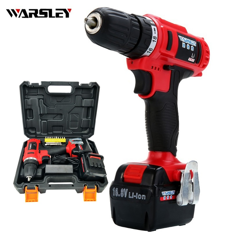16.8v Cordless Drill electric Drill rechargeable Screwdriver power tools  Electric battery drill precision electric screwdriver
