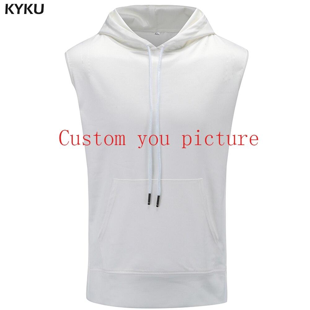 KYKU Sleeveless   Tank     Top   Mens Vest S-6XL Customer Picture Custom