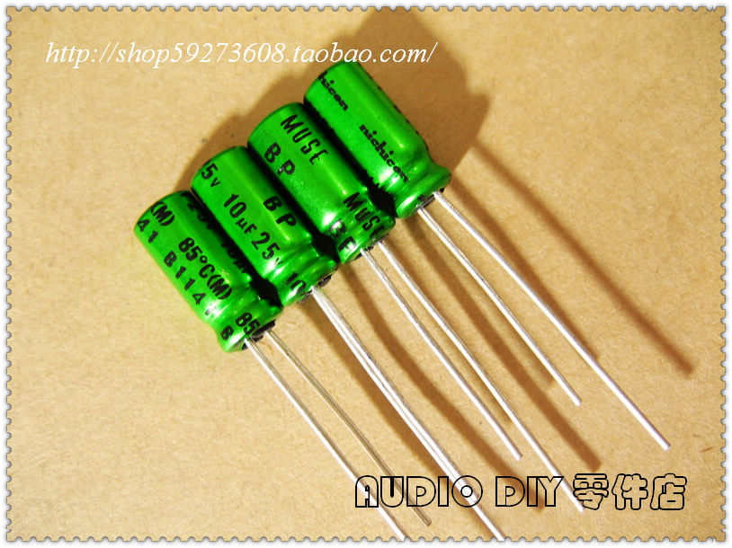 100pcs 2.2uF 100V ELUM NP  100V2.2uF Bipolar Electrolytic Capacitor 8x11.5mm