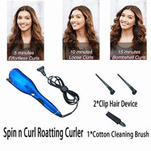 Rose-Shaped Roller Multi-Function LCD Hair Curler Iron Professional Curling เครื่องมือจัดแต่งทรงผม Curlers Wand Waver อัตโนมัติ Curly air(China)