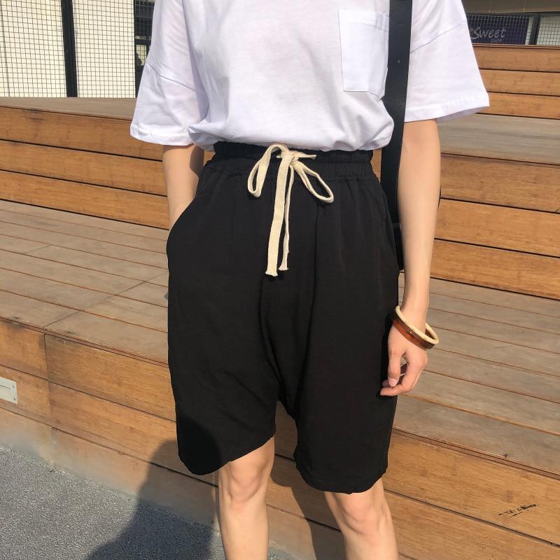 931c6b170 High-Waist-Wide-Leg-Straight-Shorts-Summer-Loose-Casual-Drawstring-Elastic-Shorts-Solid-Harajuku-Streetwear-Korean.jpg