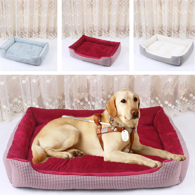 Piccolo Grande Cane Cestino Plaid Pet Dog Cat Bed Casa Staccabile Cuscino stuoia Lettino Divani per Cucciolo di Labrador Husky Animali XS XL