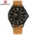 NAVIFORCE Marca de Luxo Data Japão Movt Praça Men Quartz Relógio Casual Relógio de Couro Militar Do Exército Sports Watch Homens Relógios Masculinos