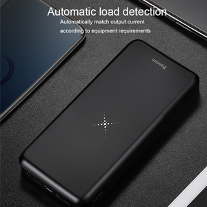Image 4 - Baseus 10000mah Power Bank Wireless Charger Fast Charging for iPhone Samsung Huawei Xiaomi Dual USB Charge External Battery Pack