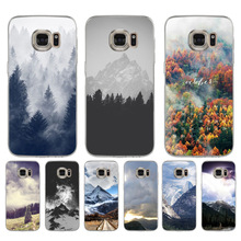 MaiYaCa Mountain Forest Clouds  Coque Shell Phone Case for Samsung S5 S6 S7 Edge S8 Plus S6 Edge Plus S3 S4